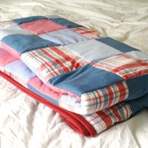 Shirt Quilt Folded
