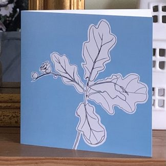 Oak Leaves Card